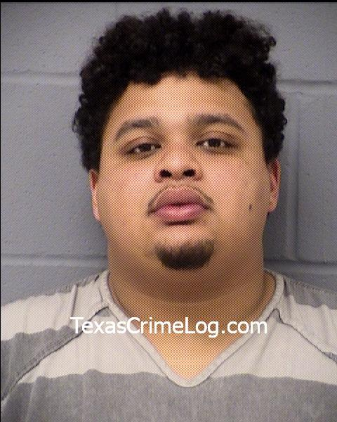 Devin Segura Harris (Travis County Central Booking)